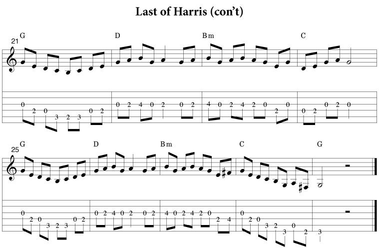 Last of Harris
