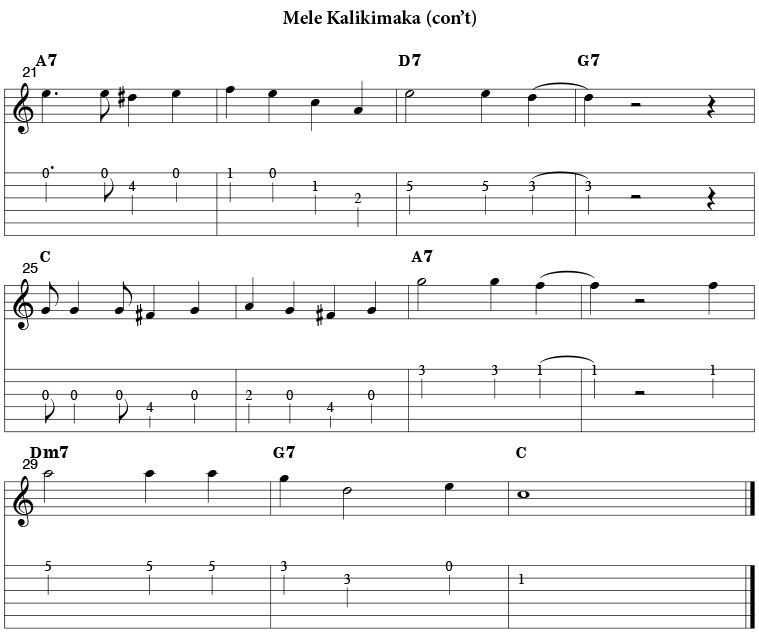 December Mele Kalikimaka
