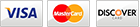 Accepted Payment Methods - Visa, MasterCard, Discover